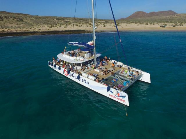 I Love Graciosa catamaran boat trip