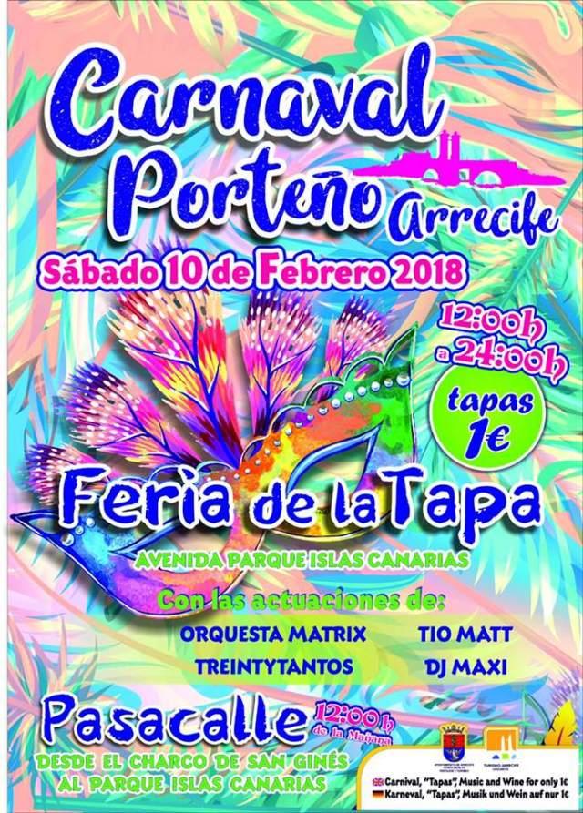 Carnaval Feria de Tapa