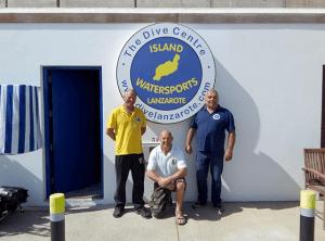 Scuba Diving Lanzarote - Centre team