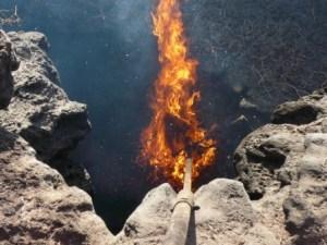 Fire Demonstration Timanfaya