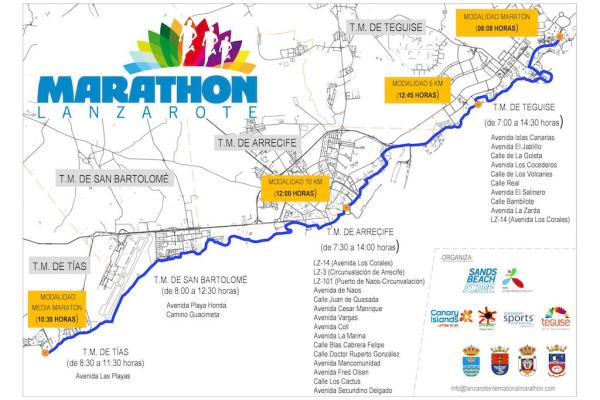 Marathon road closures