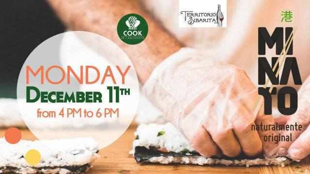 Sushi Making Course Cook in Lanzarote