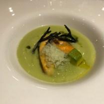KM0 avocado gazpacho