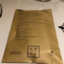 KM0 menu & gift