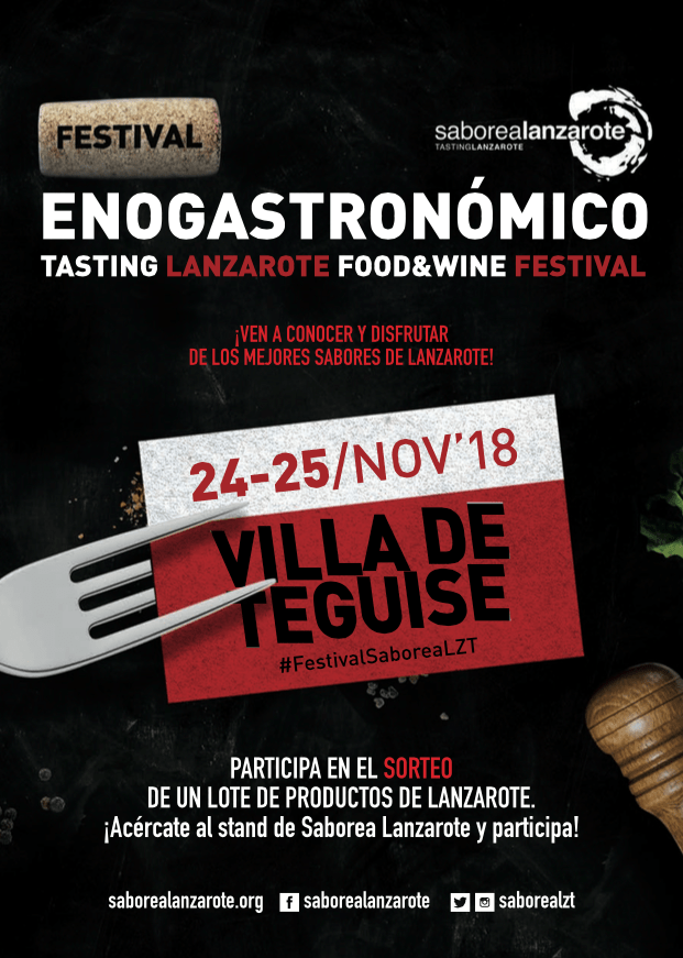 Tasting Lanzarote Food & Wine Festival Nov 2018