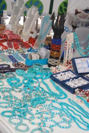 Marina Rubicon Market, beautiful local jewellery