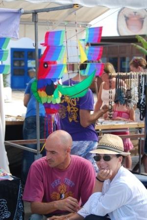 Marina Rubicon Market, wind mobiles
