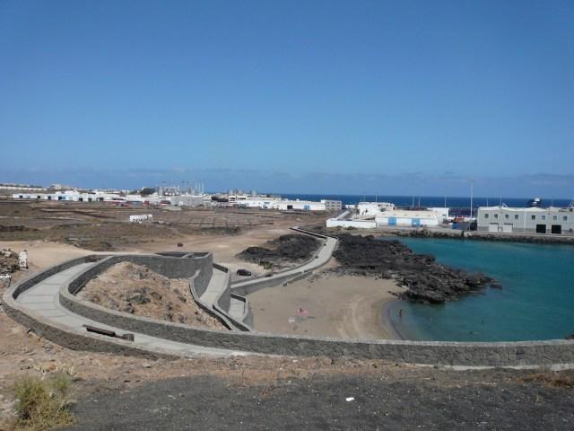 Paseo de Puerto Naos Arrecife Lanzarote