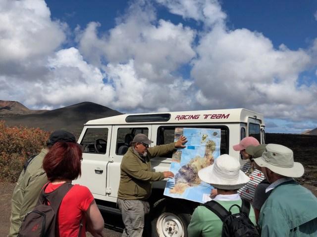 Geo guided walk Lanzarote