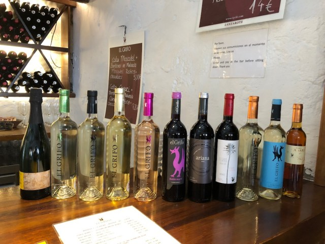 Volcanes & Wine El Grifo Wines