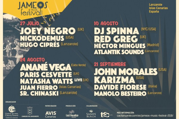 Jameos Music Festival 2018