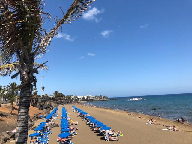 Playa Grande beach Puerto del Carmen