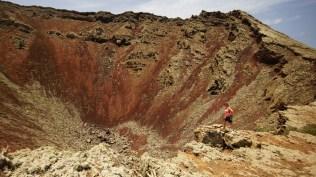 Montaña Corona Crater