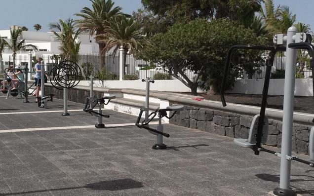 Playa Park Outdoor gym