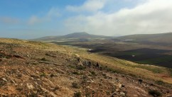 GR131 descent into Teguise