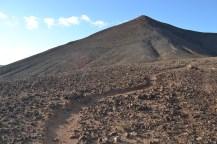 Montaña Corona path up
