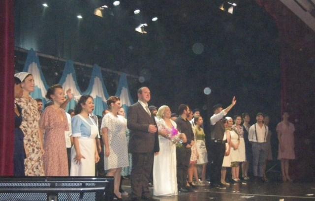 Cast of Evita