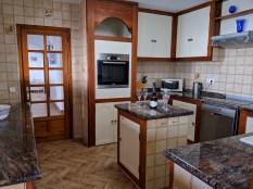 Kitchen to hall