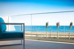 Lava Beach Hotel Balcony Sea View