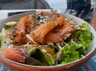 Bar Strava Smoked fish salad