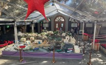 We visited nativity displays