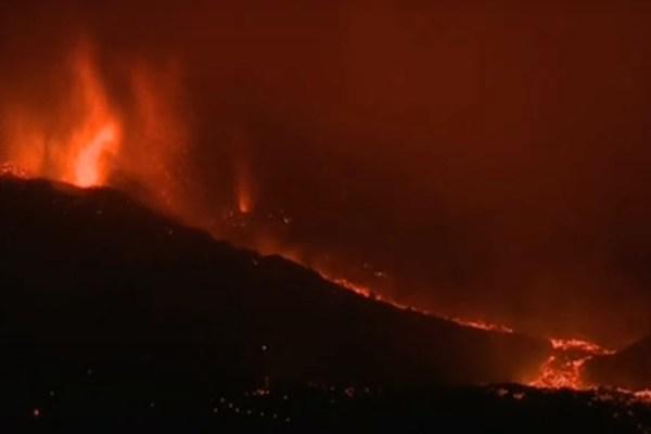 Eruption in La Palma