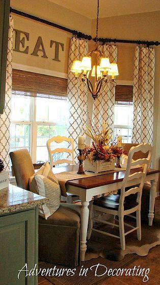 french country kitchen curtains ideas