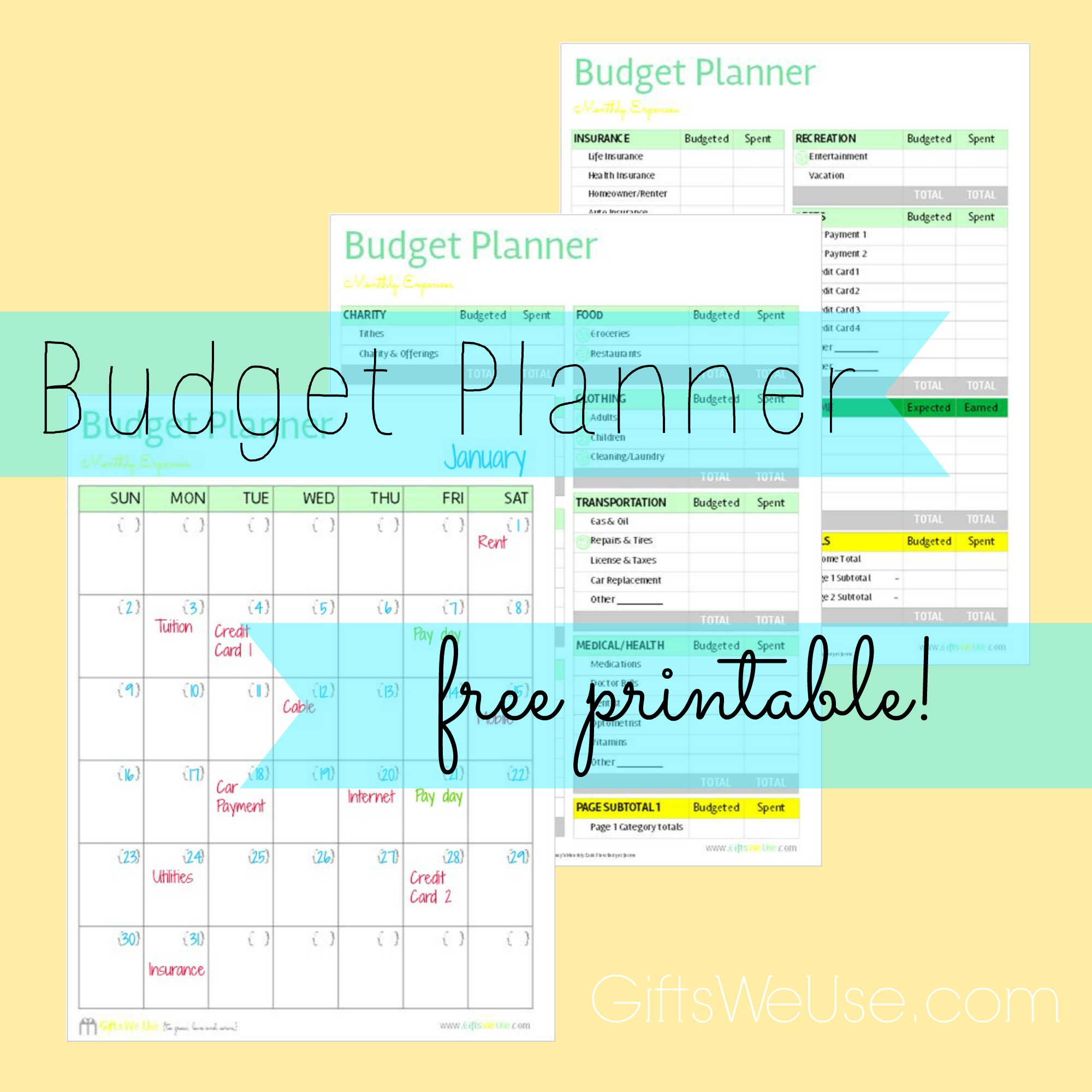 Free Printable Budget Worksheet Dave Ramsey