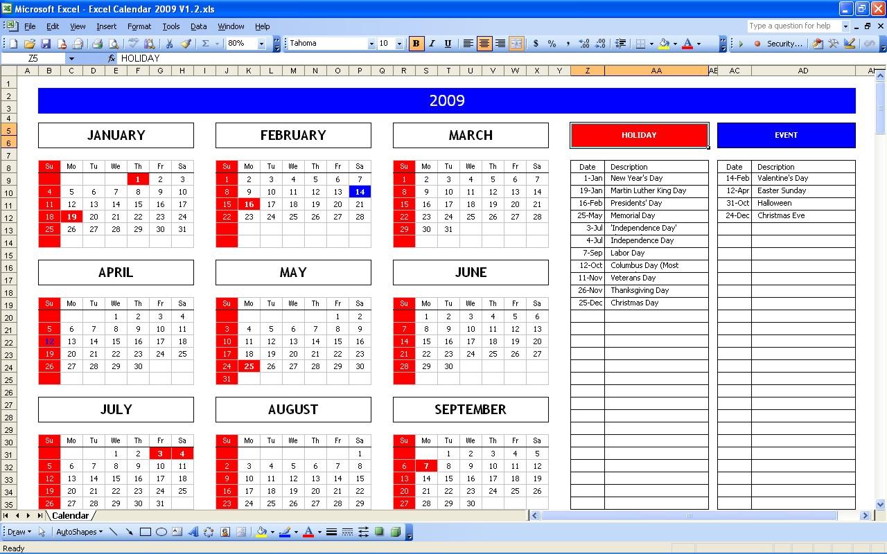 Excel Spreadsheet Examples
