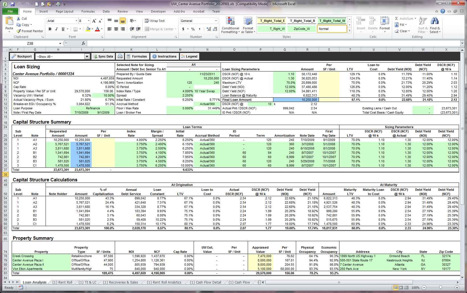Free Rental Property Management Spreadsheet Template