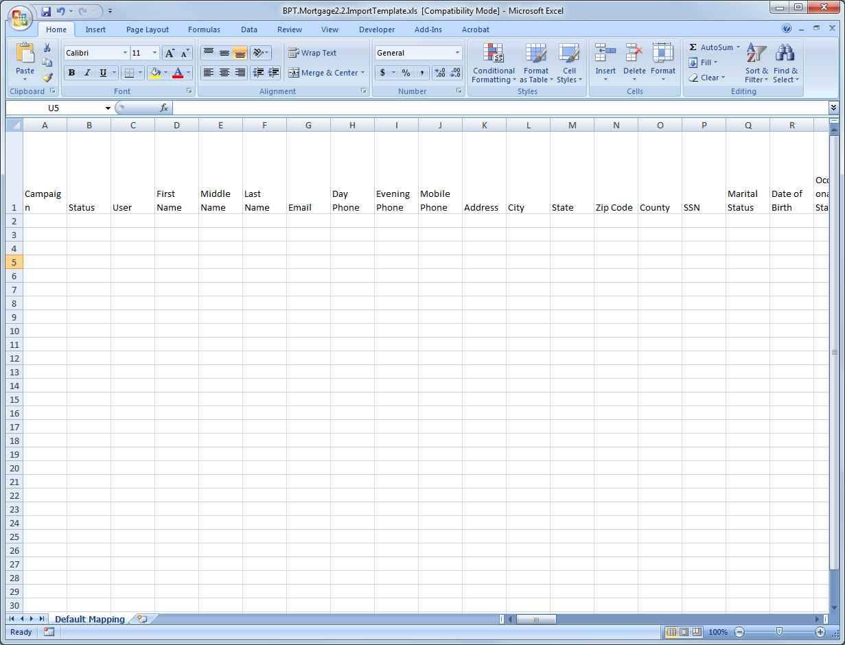 Mac Spreadsheet Program
