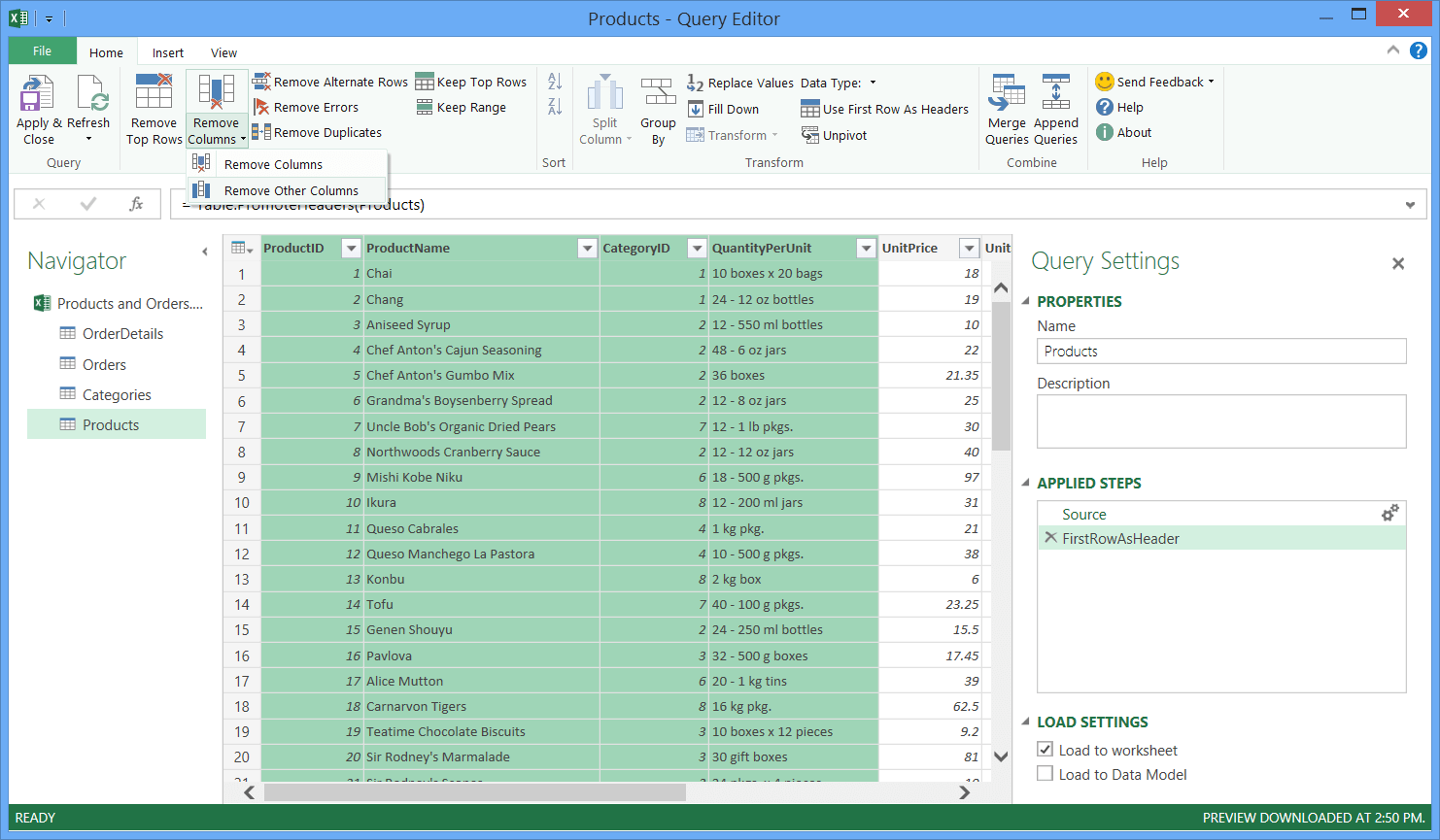 Merge Sheets In Excel