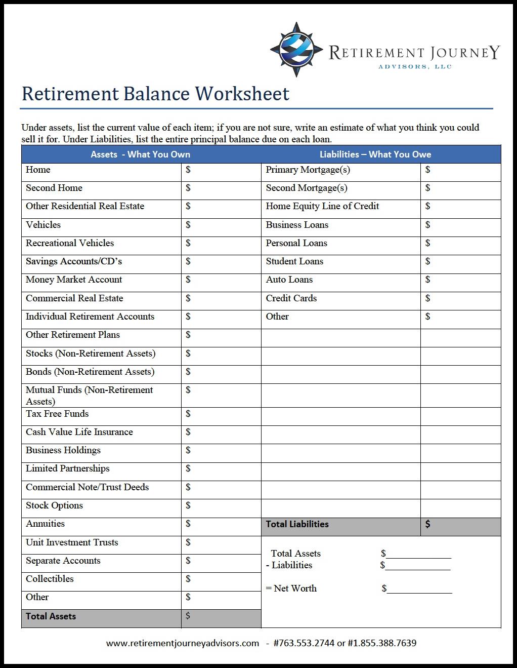 Retirement Budget C Lcul T L Ob Gk Isuo