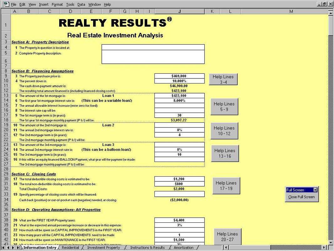 Real Estate Math Formulas