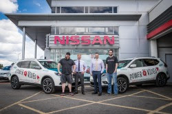 Nissan X-Trail Is Filmakers' Friend For Belfast Power Of Video Conference