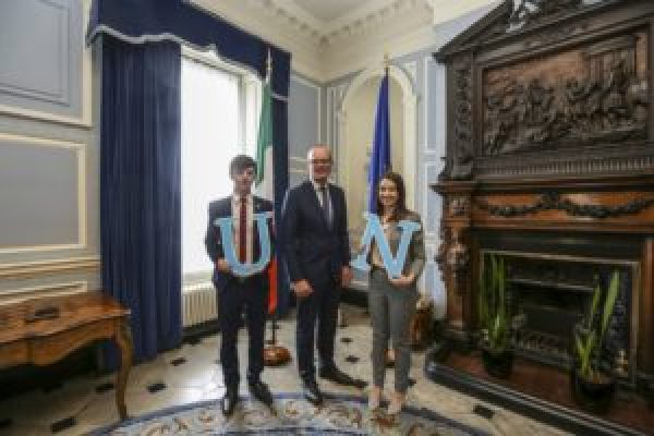 Young people from every county invited to apply for chance to represent Ireland at UN