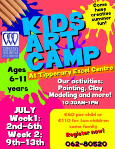 Excel Art Camp Is Back This July