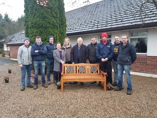 Agricultural Students do a day of volunteering in St. Anne's Residential Service, Roscrea