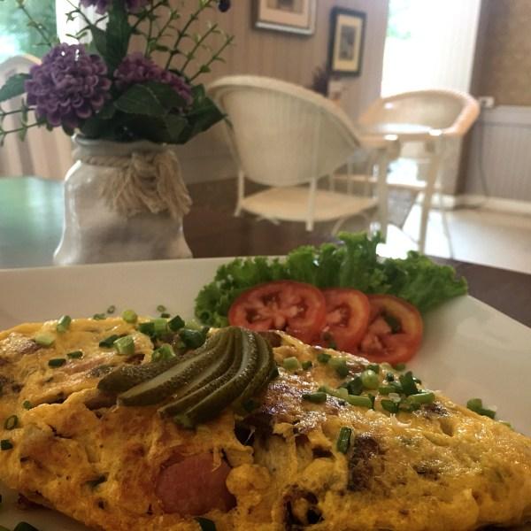 Omelette a'la Rustic
