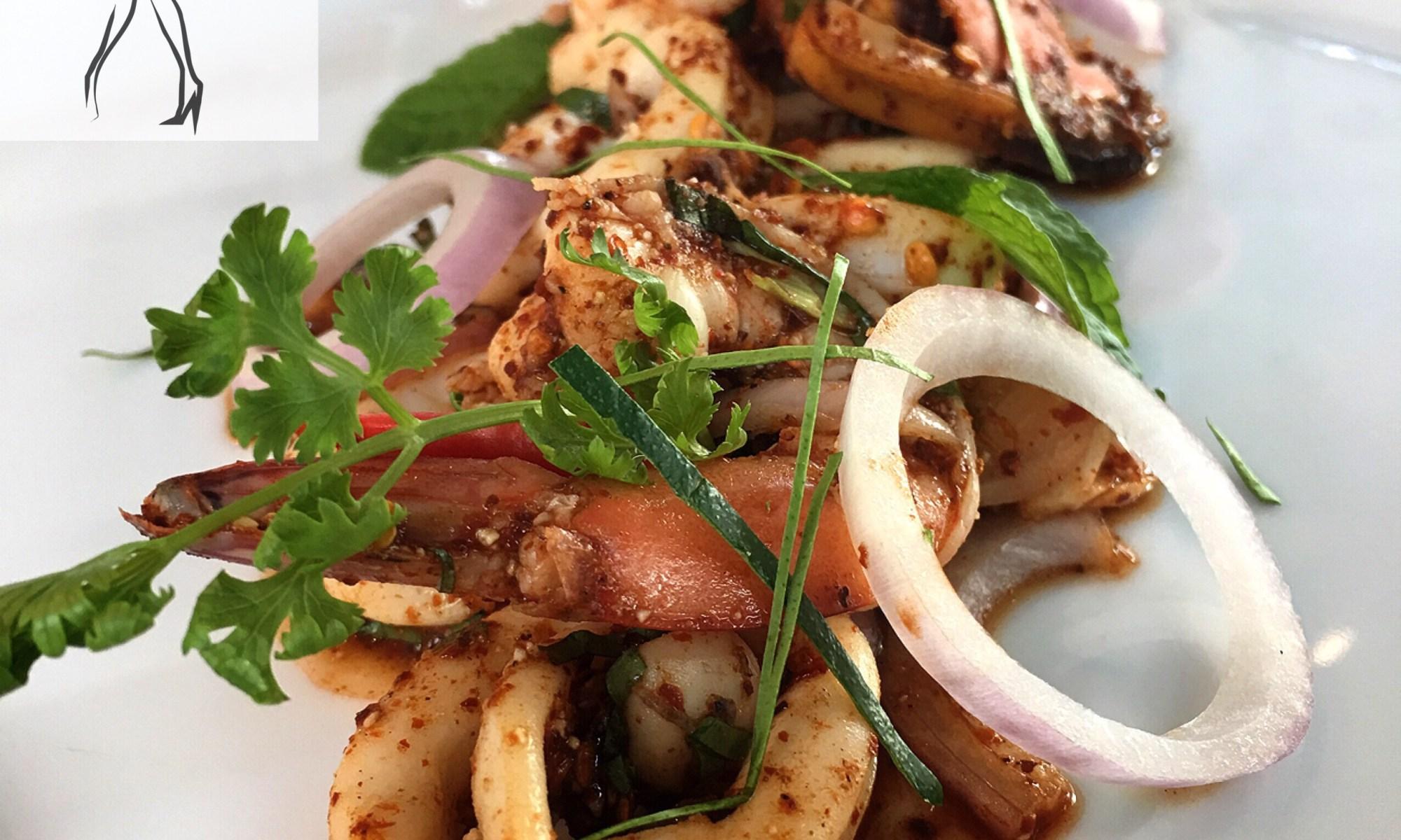 Spicy Shrimp and Squid