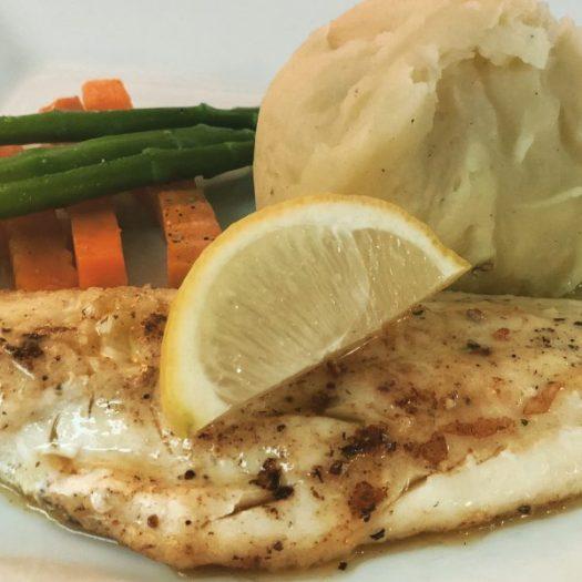 Haddock in Lemon Garlic Butter