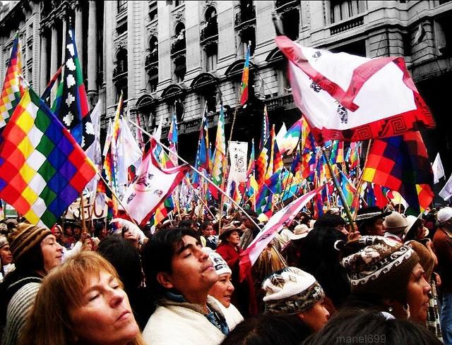 La situación de los pueblos originarios en América Latina