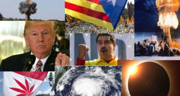 Balance 2017: algunos de los hechos sobresalientes de este año