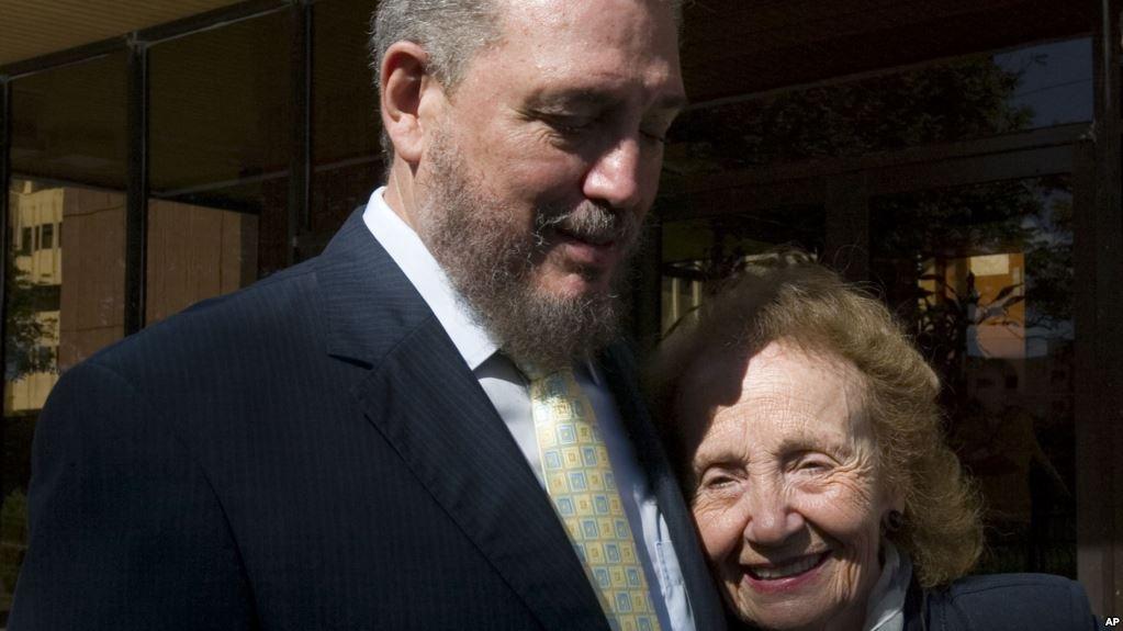"""Por depresión profunda """"Fidelito"""", el hijo mayor de Fidel Castro, se quitó la vida"""