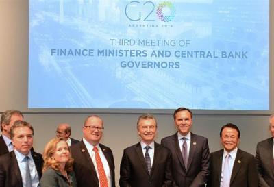 Cumbre del G20 en Argentina: finalizó el tercer encuentro de ministros de Finanzas