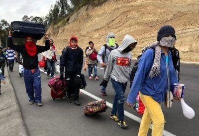 Ante la llegada de inmigrantes venezolanos, Colombia, Perú y Ecuador toman medidas