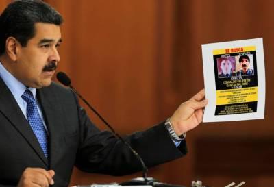 Maduro identificó a autores del atentado y presentó pruebas