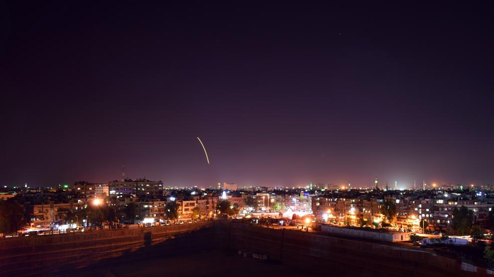 Finalmente, el avión ruso fue derribado por un misil sirio