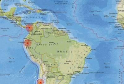 Una cadena de sismos afectó a Ecuador, Chile, Perú y Panamá