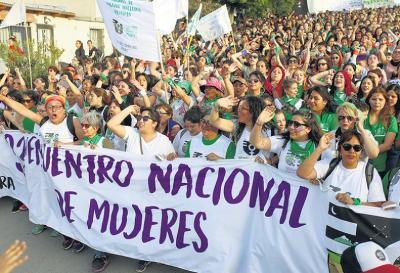 Se realizó en Argentina el 33° Encuentro Nacional de Mujeres
